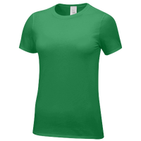 Nike Team Core SS Tee - Women's - Green / Green
