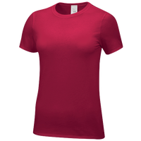 Nike Team Core SS Tee - Women's - Red / Red
