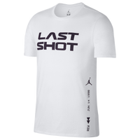 2b7ed9fdf35762 Jordan Retro 14 Last Shot Verbiage T-Shirt - Men s - White   Black