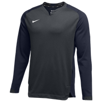 Nike Team BP Crew - Men's - Grey / Navy