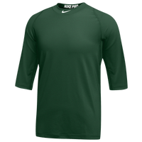 Nike Team Pro Cool 3/4 Sleeve Top - Men's - Green