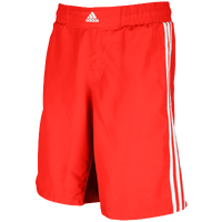 adidas Grappling Shorts - Men's - Red / White