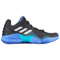 adidas Pro Bounce Low 2018 - Men's - Black / Blue