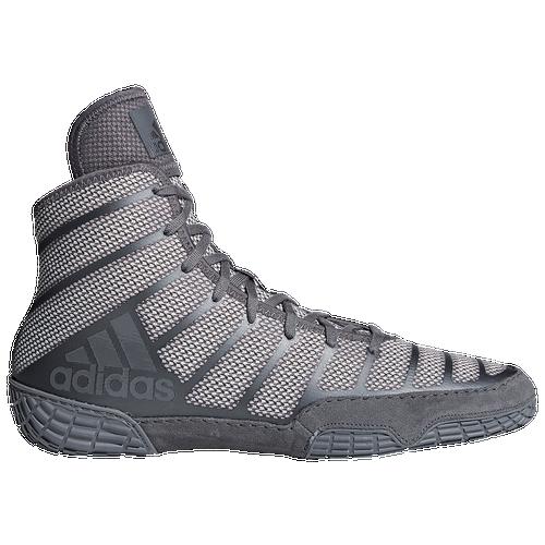 Adidas adizero varner 2 uomini wrestling scarpe nero / grigio