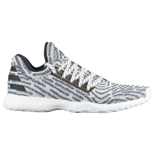 adidas Harden LS - Men's White/Black/Grey AC8407