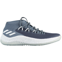 adidas Dame 4 - Men's -  Damian Lillard - Grey / White