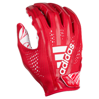 adidas Adizero 5-Star 7.0 Receiver Gloves - Men's - Red / White
