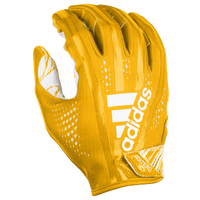 adidas Adizero 5-Star 7.0 Receiver Gloves - Men's - Gold / White