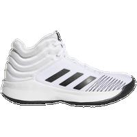 quality design 6a355 6d8ca adidas Pro Spark - Boys Grade School - White