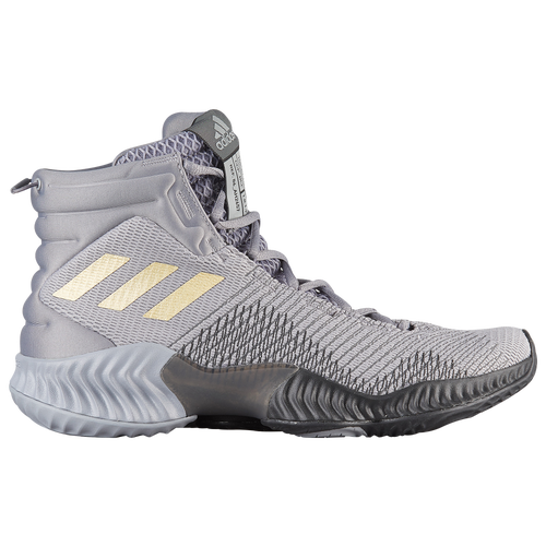 adidas Pro Bounce Mid 2018 - Men s - Basketball - Shoes - Grey Black Gold 387ee1ec5157