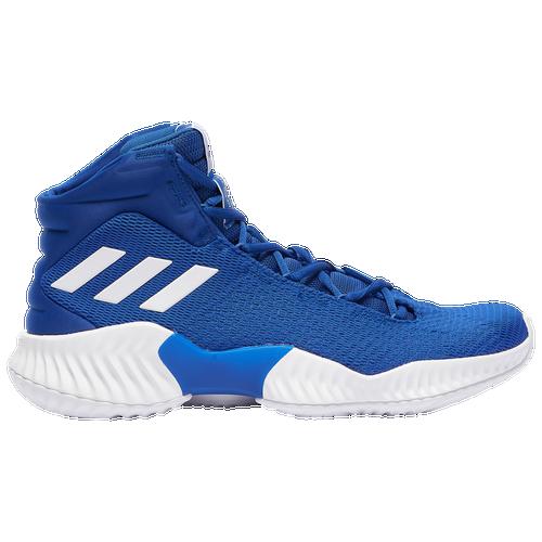 adidas Pro Bounce Mid 2018 - Men s - Basketball - Shoes - Royal White d050e7ec2d93