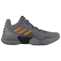 adidas Pro Bounce Low 2018 - Men's - Grey / Gold