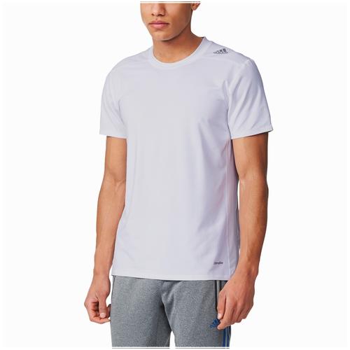 adidas Techfit Fitted Short Sleeve T-shirt - Men's Training - White AJ5216