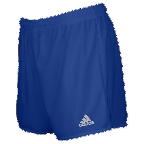 adidas Team Parma 16 Shorts - Women's Soccer - Bold Blue/White AJ5900