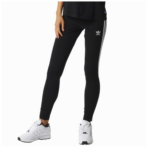 99cdc4f6734 adidas Originals 3-Stripes Leggings - Women's - Casual - Clothing - Black/ White