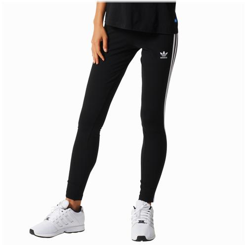 adidas Originals 3-Stripes Leggings - Women\u0027s - Black / White