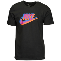 Nike Graphic T-Shirt - Men's - Black / Blue