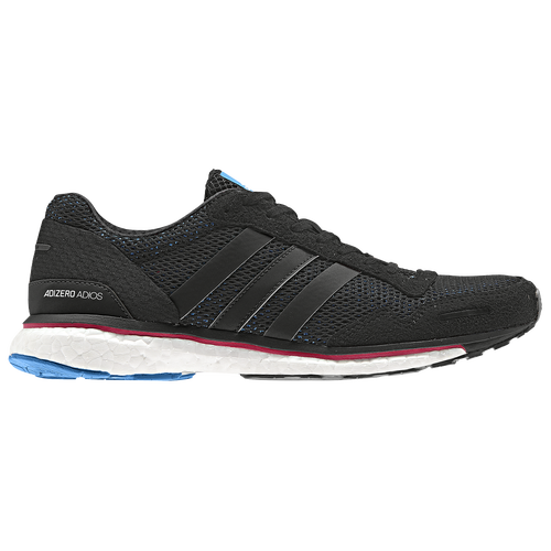 huge selection of 634e8 278bc adidas adiZero Adios 3 - Womens - Running - Shoes - Core BlackReal  MagentaBright Blue