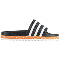 adidas Adilette - Women's - Black / White