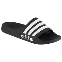 adidas Adilette Shower Slide - Men's - Black / White
