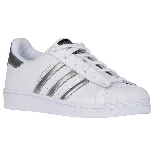 adidas Originals Superstar - Women\u0027s - White / Silver