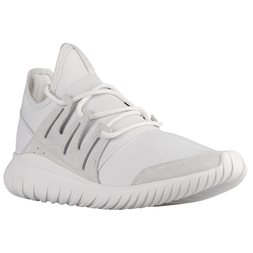 adidas Originals Tubular Radial - Men's - Casual - Shoes - Crystal White/Crystal White/Crystal White