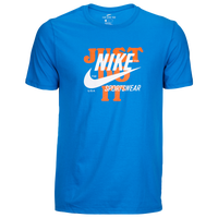 Nike Graphic T-Shirt - Men's - Light Blue