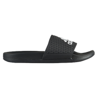 adidas Adilette - Boys' Grade School - Black / Grey