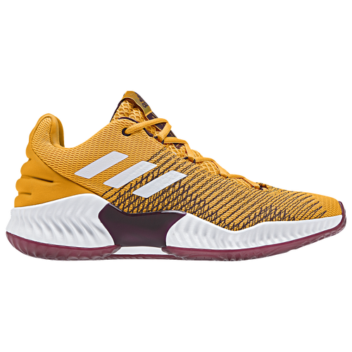 Maroon And Gold Running Shoes