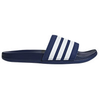 adidas Adilette Cloudfoam Plus - Men's - Navy