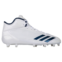 huge discount f8b02 1cf70 adidas adiZero 5-Star 6.0 Mid - Mens - White  Navy