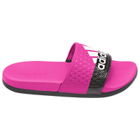 adidas Adilette Slide - Girls' Grade School - Pink / Black
