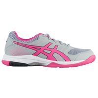 ASICS® GEL-Rocket 8 - Women's - Grey / Pink