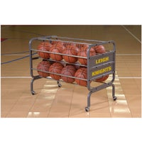 Bison Team Heavy Duty Ball Cart - Grey / Grey