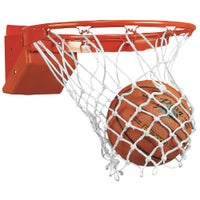 Bison Team Elite Breakaway Basketball Goal - Orange / Orange