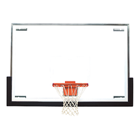 Bison Standard Glass Tall Backboard