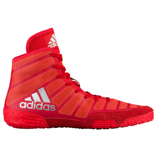 new arrival 690a0 5069b ... sale adidas adizero varner 2 mens wrestling shoes red silver red 03c1f  b4d90