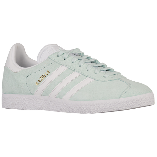 adidas Originals Gazelle - Women's - Casual - Shoes - Ice Mint/White/Gold Metallic