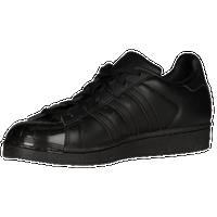 adidas Originals Superstar - Women\u0027s - All Black / Black