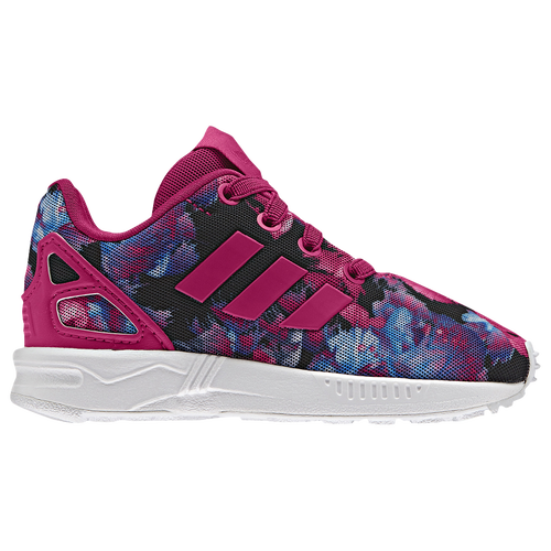 adidas girls. adidas originals zx flux - girls\u0027 toddler pink / black girls