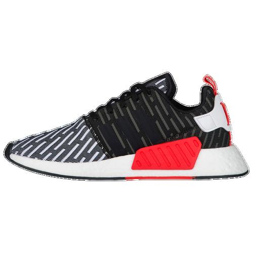 adidas Originals NMD R2 Primeknit - Men\u0027s - Black / White