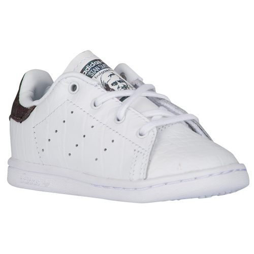 adidas Originals Stan Smith - Boys\u0027 Toddler - Casual - Shoes - White/Night  Cargo/Black