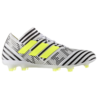adidas Nemeziz 17.1 FG - Men's - White / Yellow