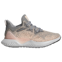 adidas Alphabounce Beyond - Girls' Grade School - Grey / Orange