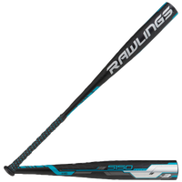 Rawlings 5150 BBCOR Baseball Bat - Men's - Black / Light Blue