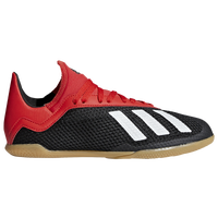 adidas X Tango 18.3 IN - Boys' Grade School - Black / Red