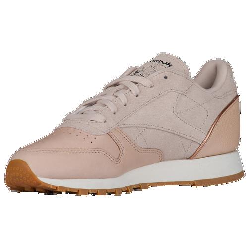 Reebok Classic Leather - Women's - Casual - Shoes - Vegtan/Sandtrap/Rose  Gold/Chalk
