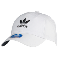 adidas Originals Washed Relaxed Strapback - Men s - White   Black 6e85f9068e1