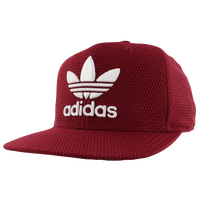 adidas Originals Trefoil Plus Snapback - Men s - Maroon   White 8808456fa8e