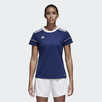 adidas Team Squadra 17 Short Sleeve Jersey - Women's - Navy / White